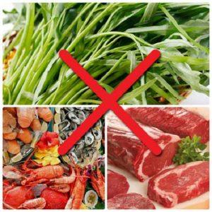 Những loại thực phẩm nên kiêng sau khi nâng mũi