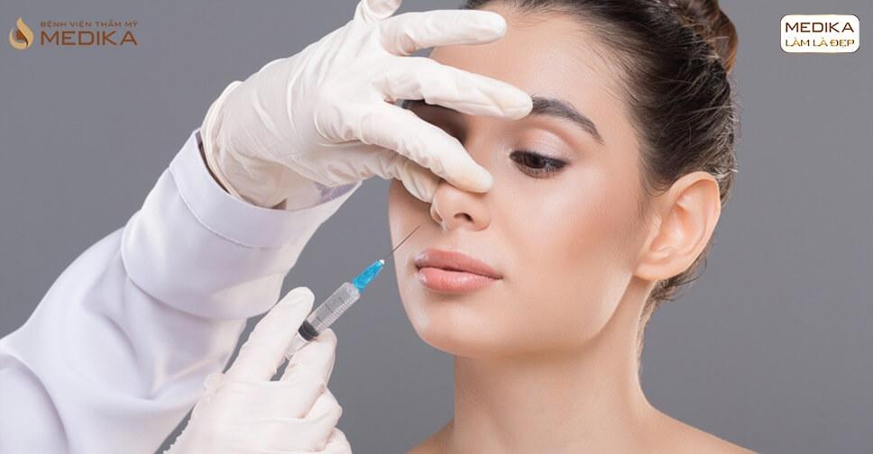 Sở hữu dáng mũi cao không dao kéo nhờ nâng mũi không phẫu thuật - Ở nangmuislinedep.com.vn