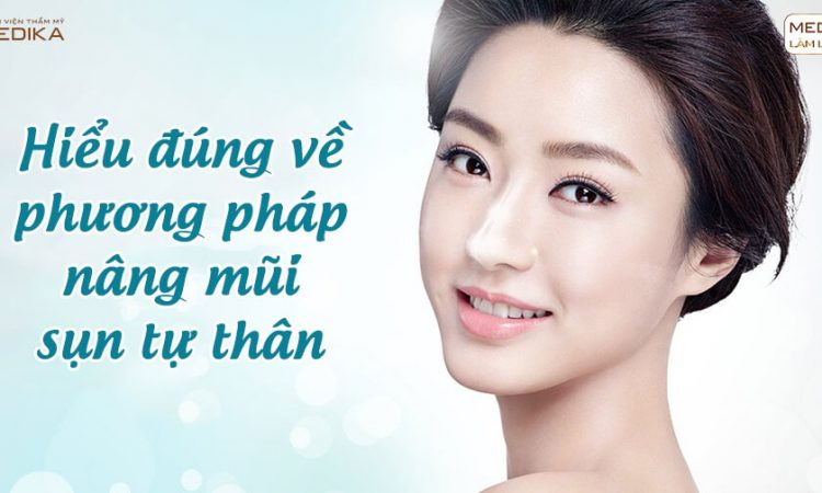 Hiểu đúng về phương pháp nâng mũi sụn tự thân - Nangmuislinedep.com.vn
