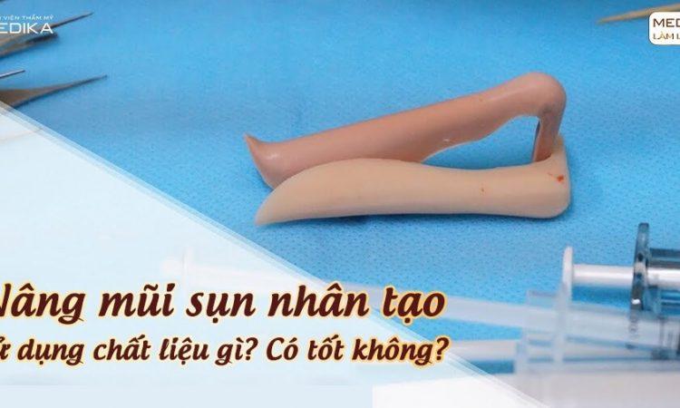 Nâng mũi sụn nhân tạo sử dụng chất liệu gì? - Nangmuislinedep.com.vn