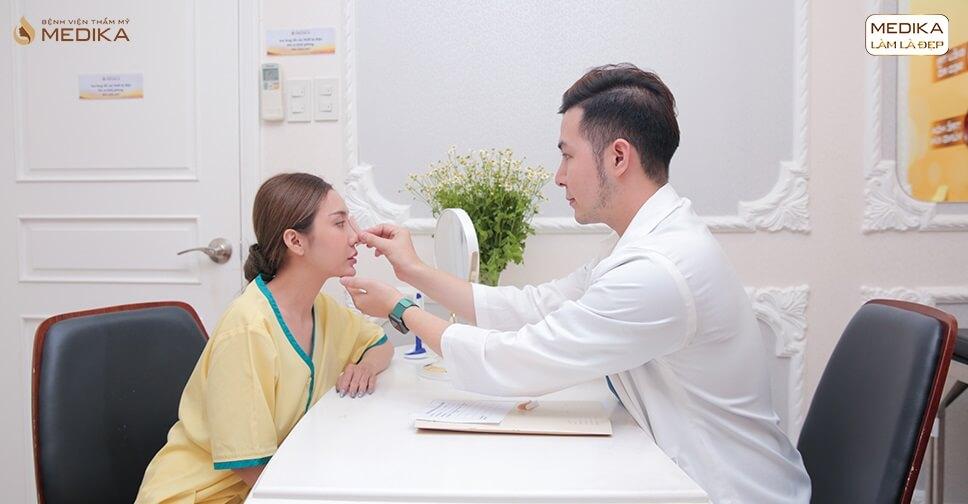 Review nâng mũi bằng sụn sườn tại bệnh viện thẩm mỹ MEDIKA - Nangmuisline.com.vn