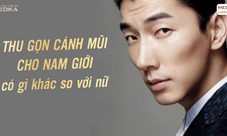 Thu gọn cánh mũi cho nam giới có gì khác so với nữ? - Nangmuislinedep.com.vn