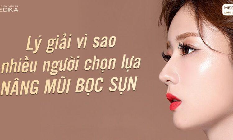 Nâng mũi bọc sụn mang lại dáng mũi sang trọng - Ở Nangmuislinedep.com.vn