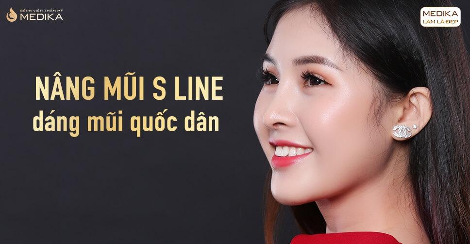Phương án nâng mũi S Line hài hòa cho gương mặt Á Đông tại Nangmuislinedep.com.vn