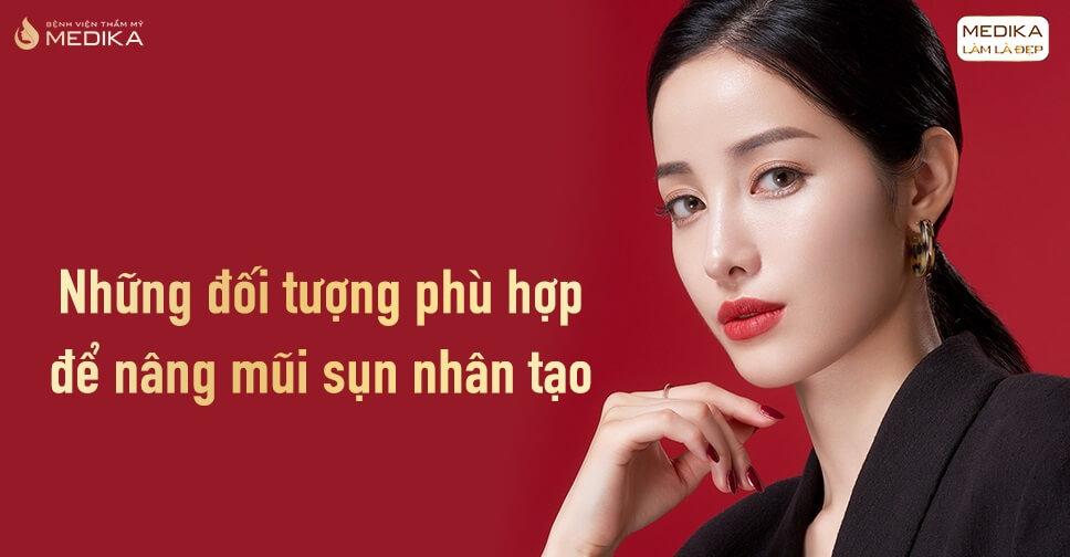 Những đối tượng phù hợp để nâng mũi sụn nhân tạo tại Nangmuislinedep.com.vn