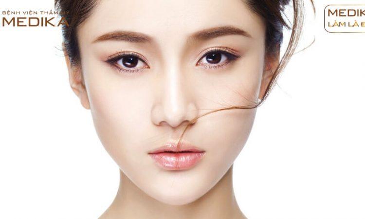 Thu gọn cánh mũi có cần thực hiện nâng mũi nữa không từ Nangmuislinedep.com.vn?