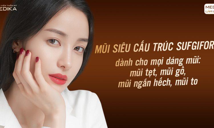 Phương pháp nâng mũi Surgiform liệu có tốt như lời đồn ở Nangmuislinedep.com.vn?